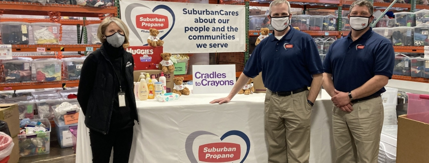 Suburban Propane Donates 1 000 Essential Kits to Cradles to Crayons 2 24 21 captis executive search management consulting leadership board services