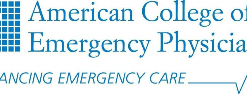 american college of emergency physicians logo captis executive search management consulting leadership board services