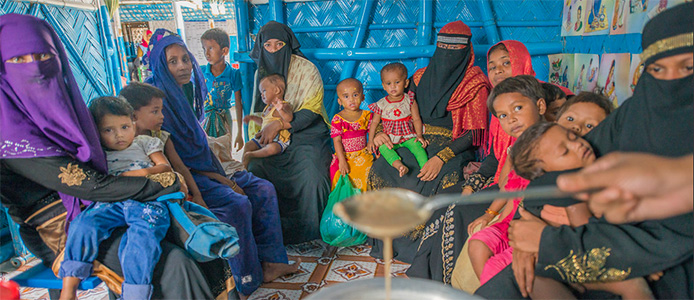 bangladesh providing support to the rohingya refugees 2 web captis executive search management consulting leadership board services
