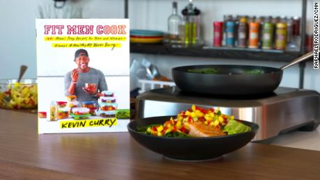 """In his book """"Fit Men Cook,"""" Curry shares 100 easy, quick, healthy, and budget-friendly recipes."""