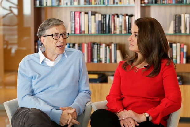 The billionaire philanthropists jointly formed the Bill & Melinda Gates Foundation, to which they have devoted their fortune.